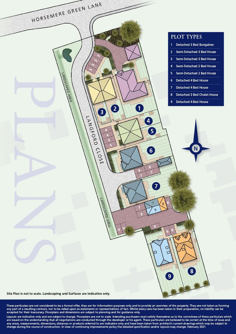 Langford Siteplan